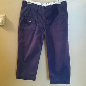 Dockers royal blue size 10 Capri pants
